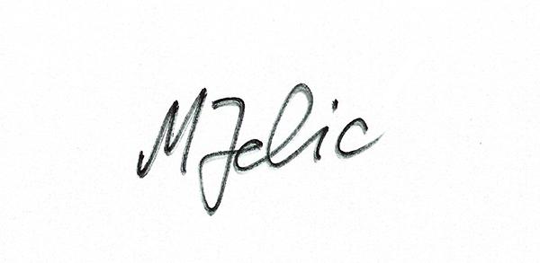 Margareta Jelic Signature