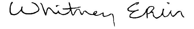 Whitney Wernick Signature