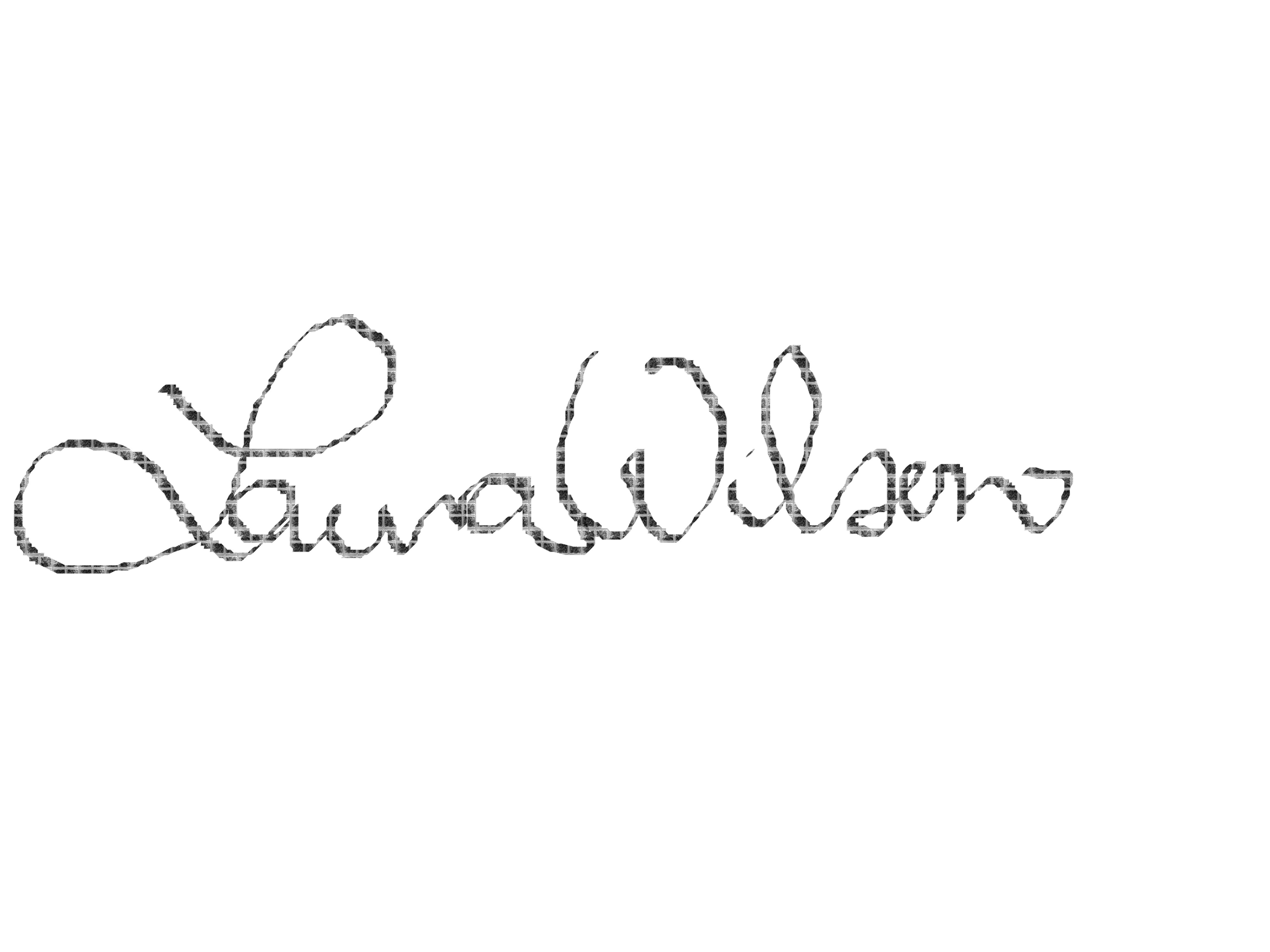 Laura Wilson Signature