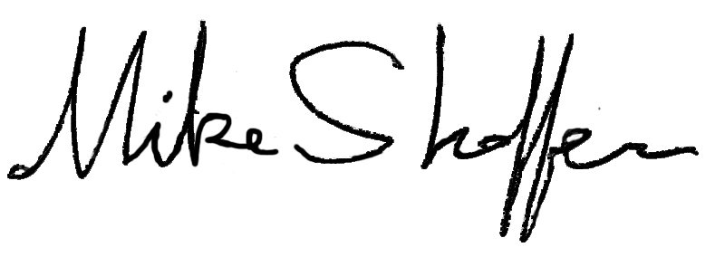 mike shaffer Signature