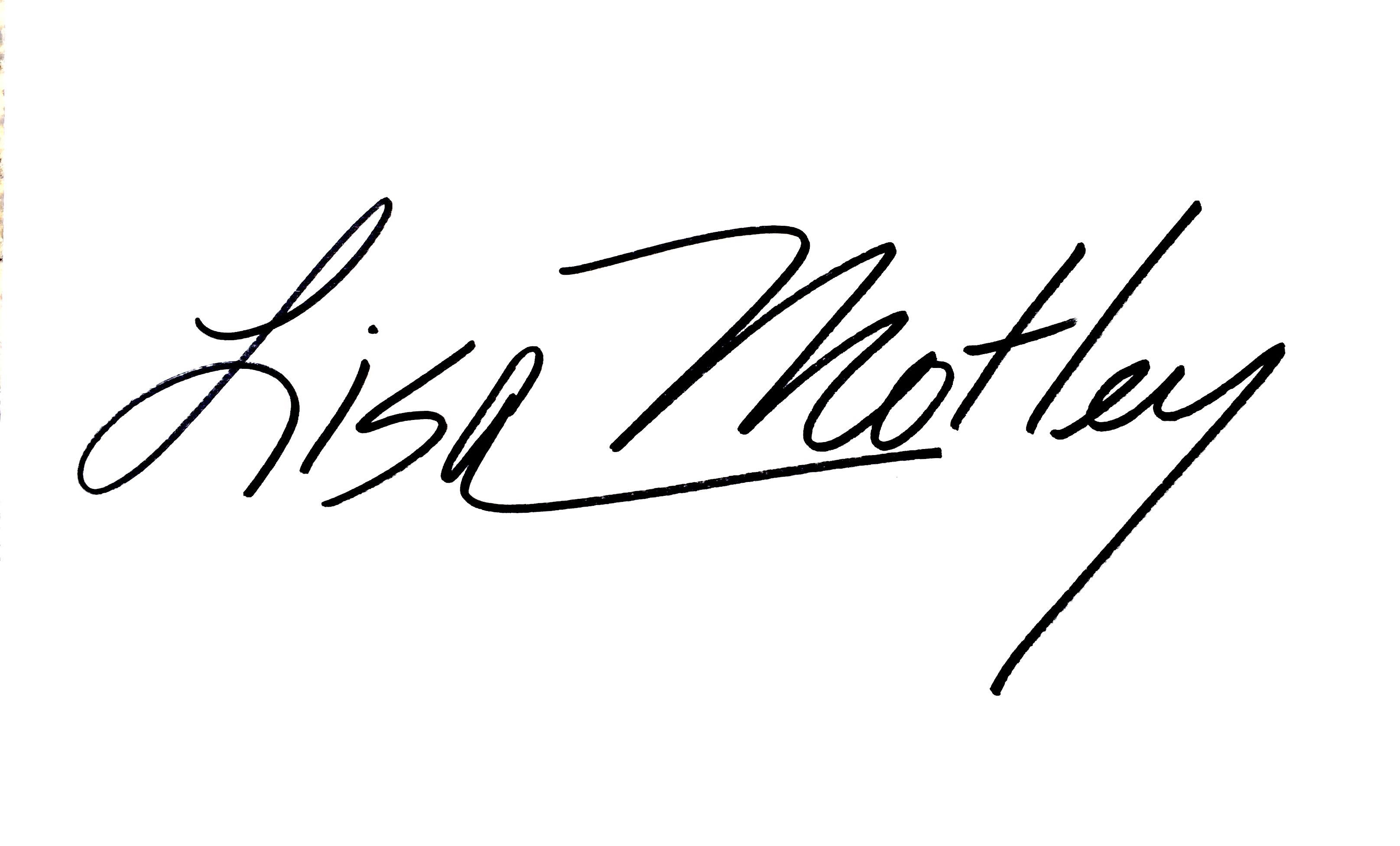 lisa  motley Signature
