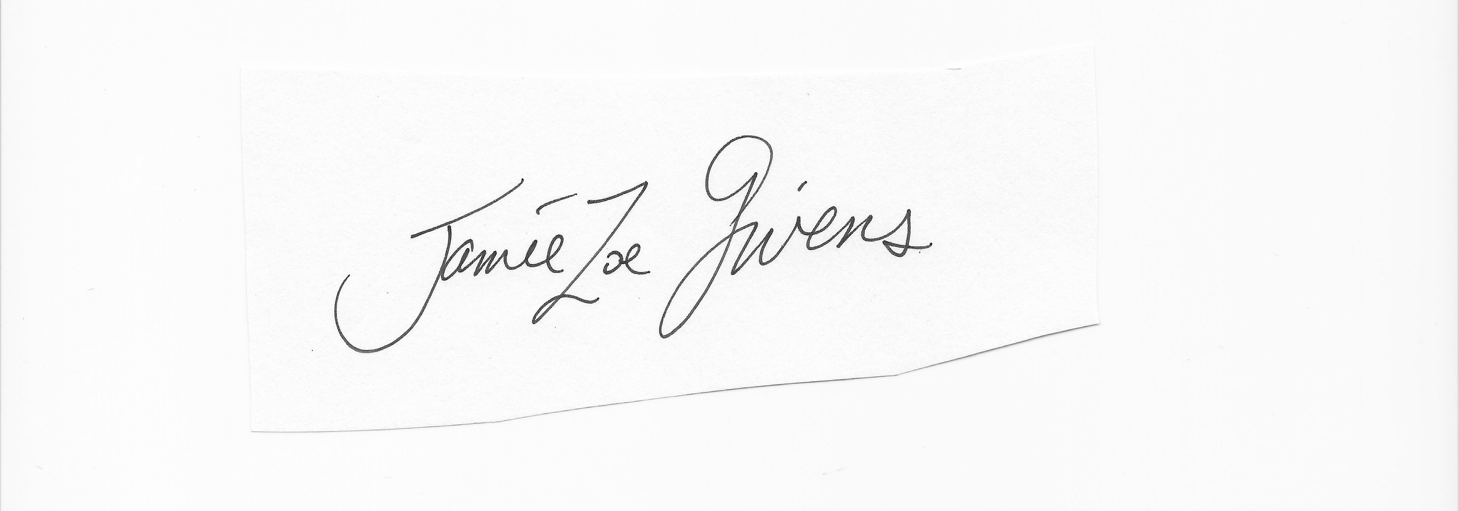 jamie Zoe givens Signature