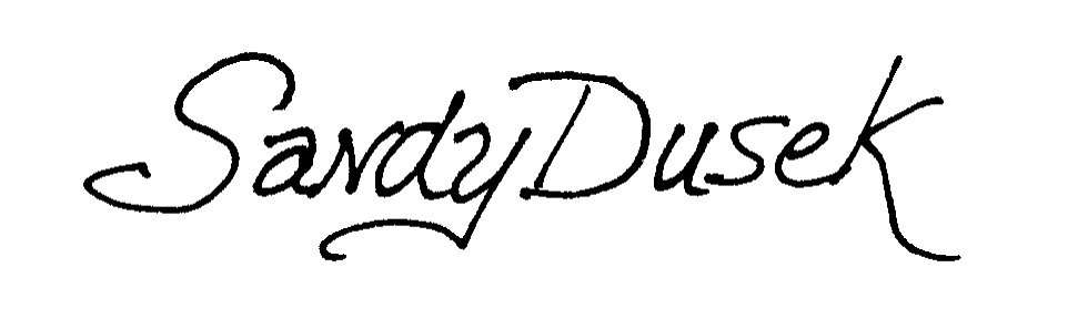 Sandy Dusek Signature