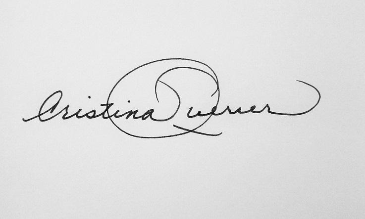 Cristina Querrer Signature