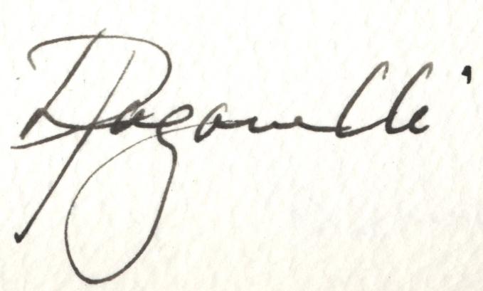 Liz Paganelli Signature