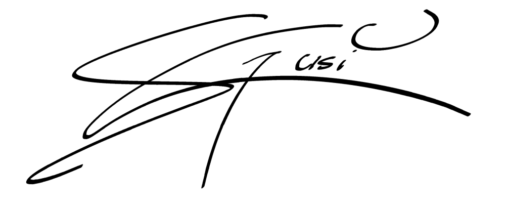Susi Galloway Signature