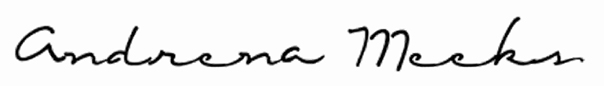 Andrena Meeks Signature