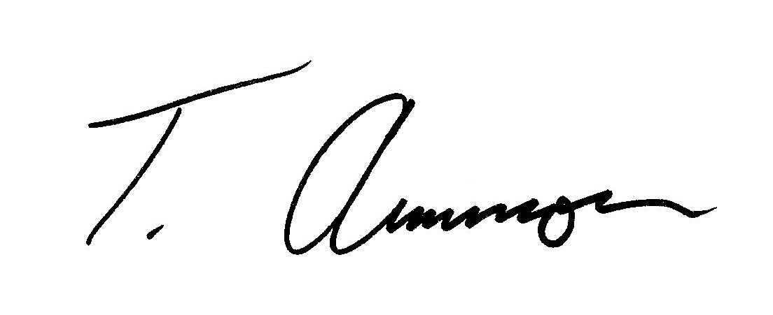 Tom Ammon Signature