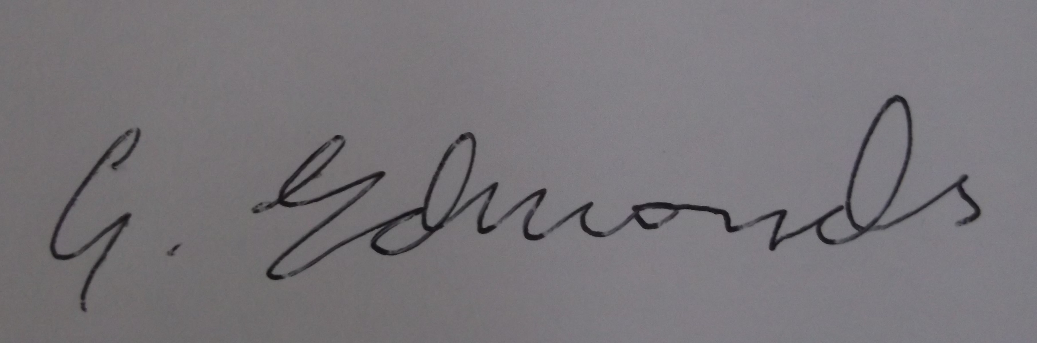 gearoid edmonds Signature