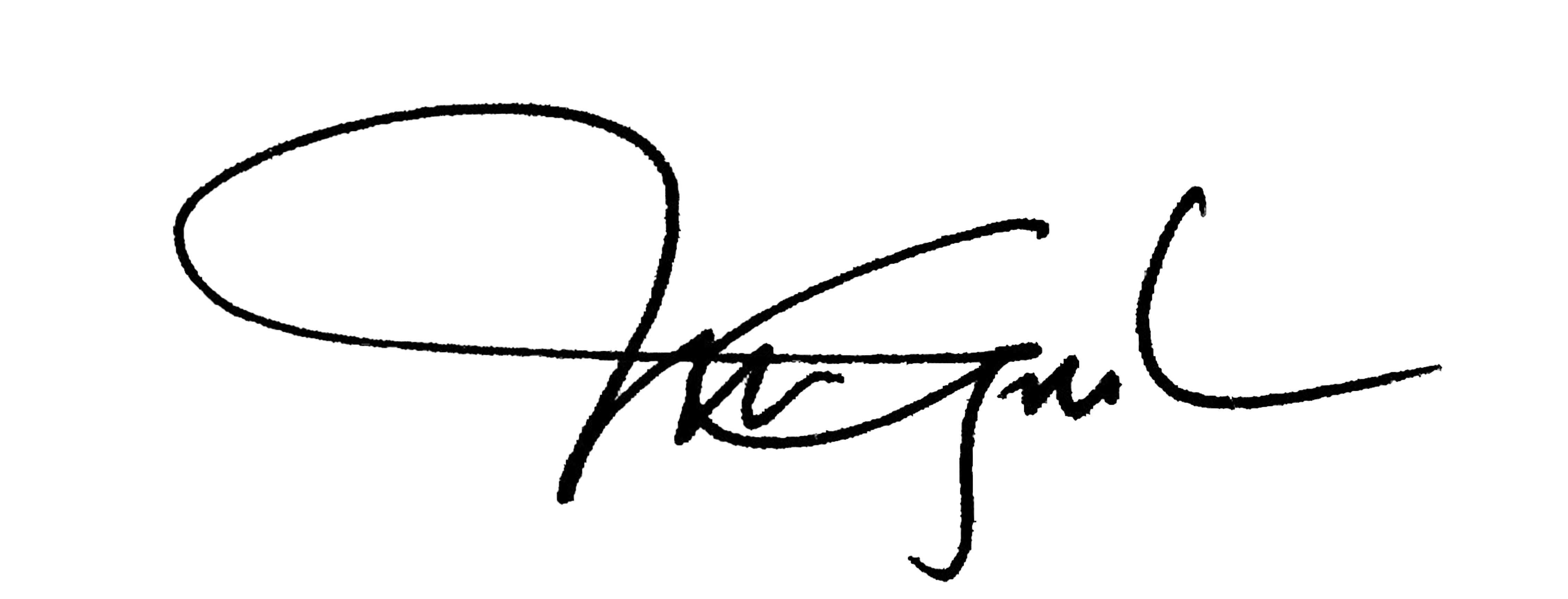 Angela Merici Gabriel Signature