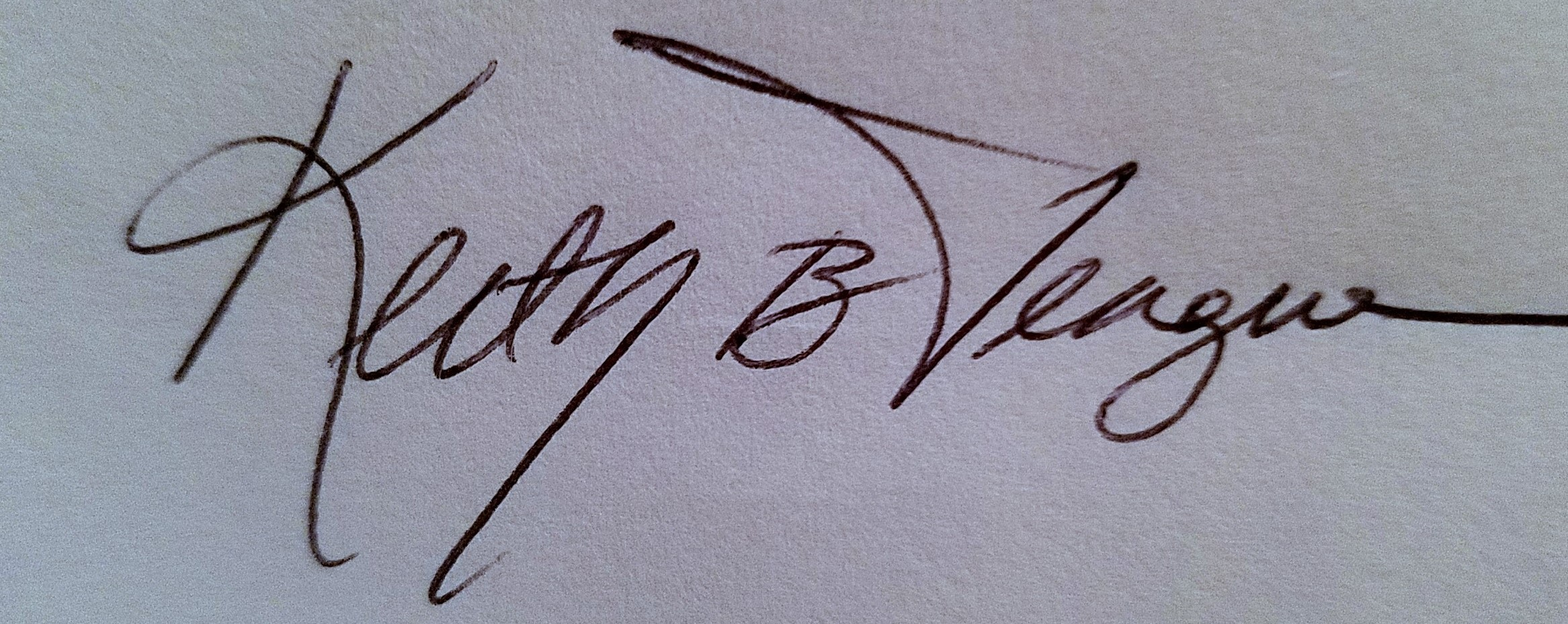 Keith Teague Signature