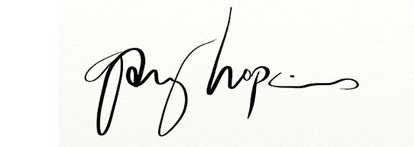 Gary Hopkins Signature