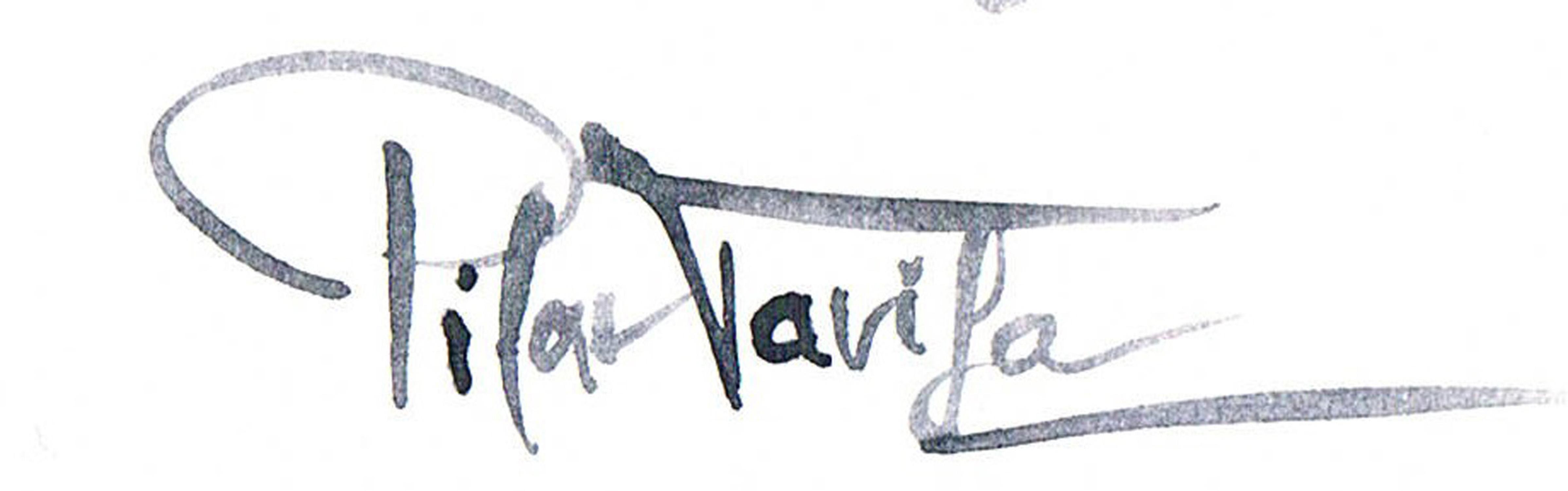 PILAR TARIFA Signature
