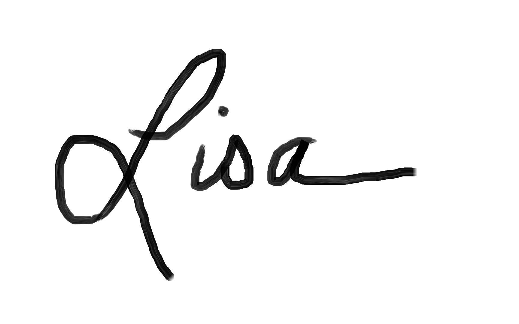 Lisa Allen Signature