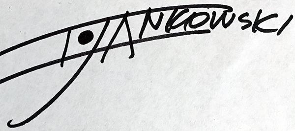 Iwona Jankowski Signature