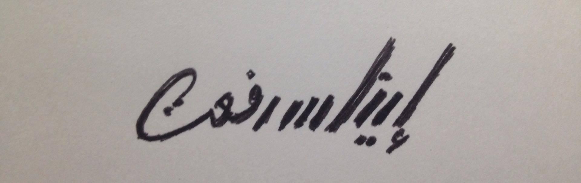 Enas Refaat Signature
