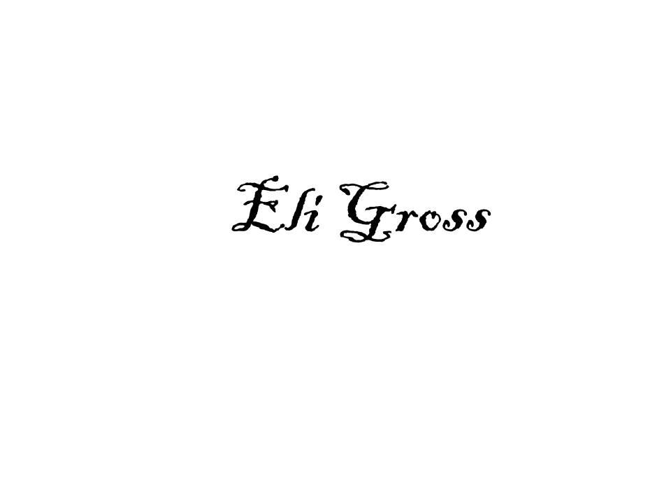 Eli Gross Signature