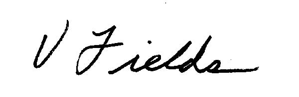 Vikki Fields Signature