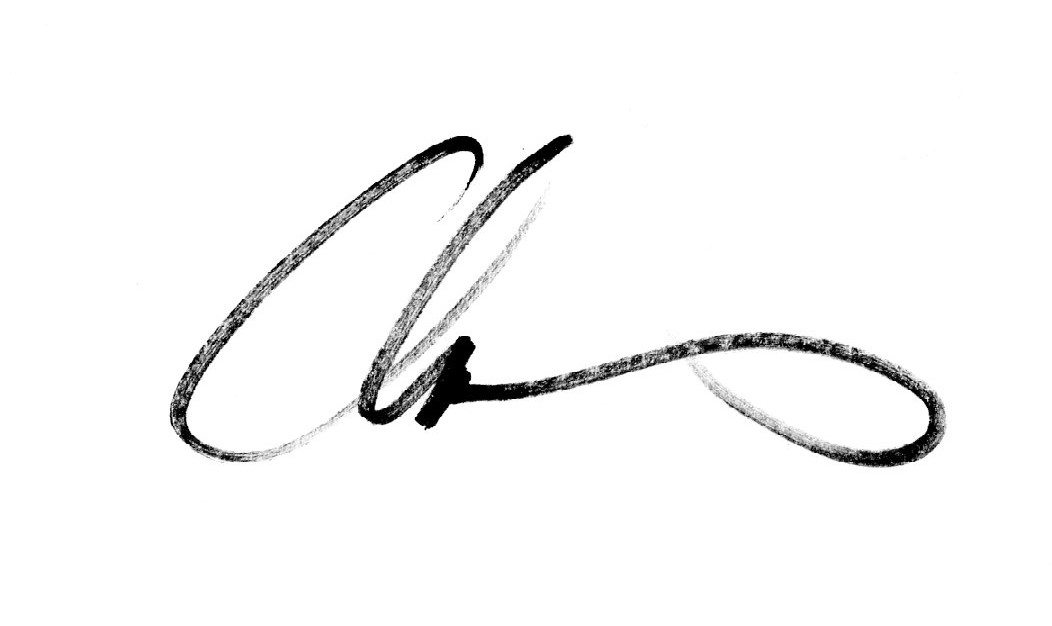 chas mcgough Signature