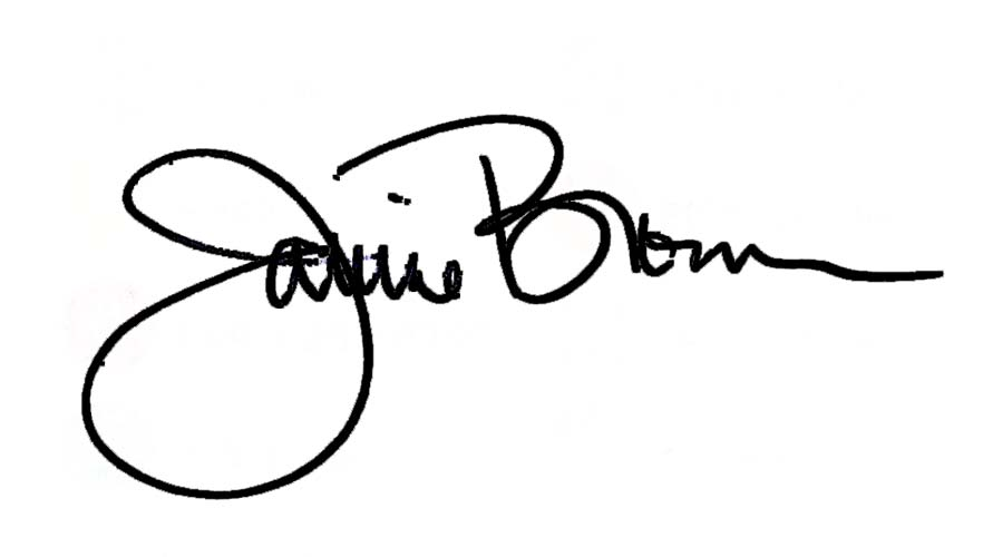 Janine Brown Signature