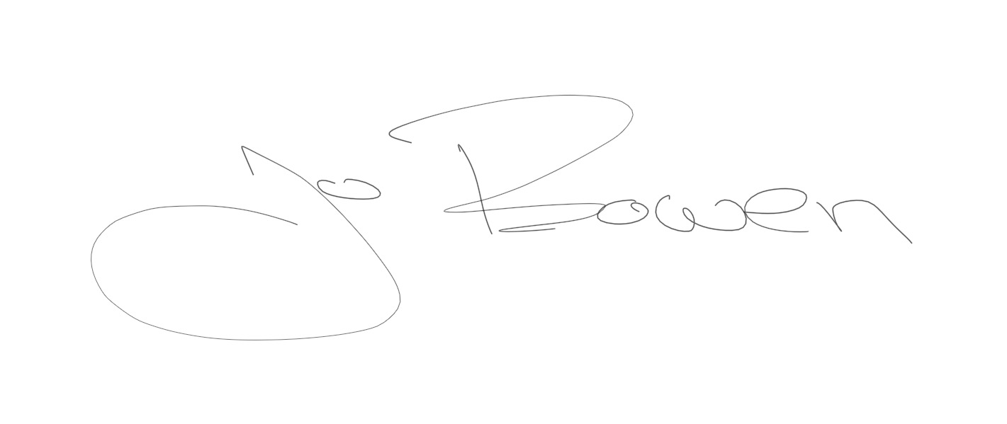 Jo Bowen Signature