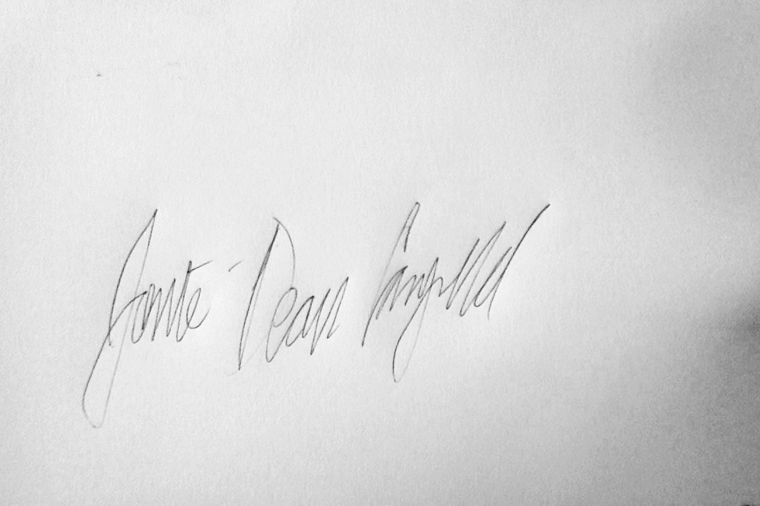 Jonte' Campbell Signature