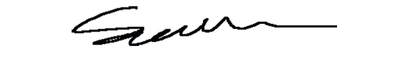 Gethin Thomas Signature