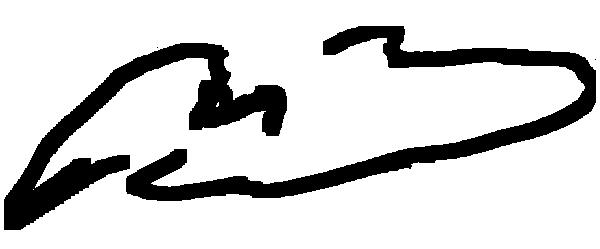 M. B Signature