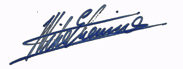 Mike Etienne Signature