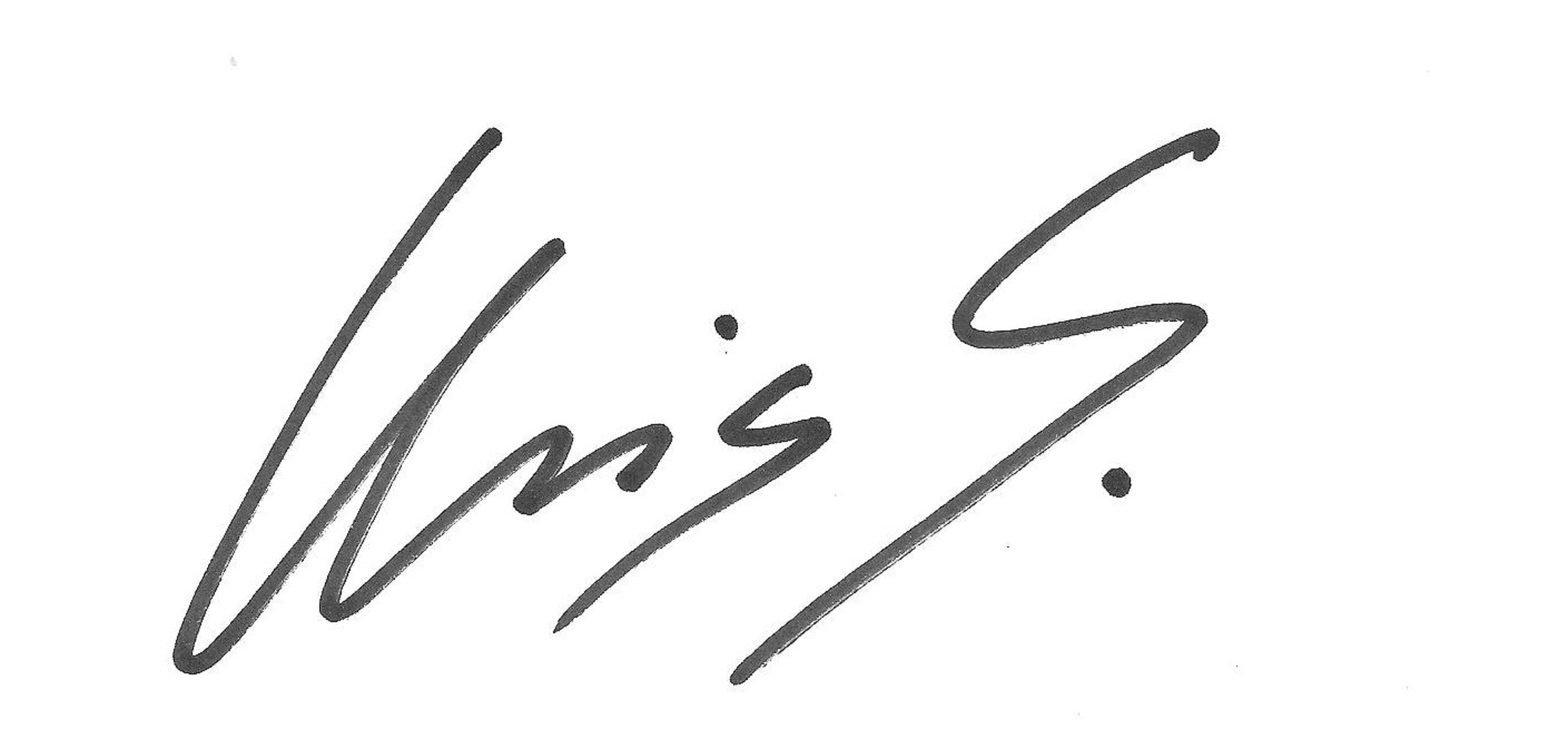 Chris SCHAEFFELER Signature