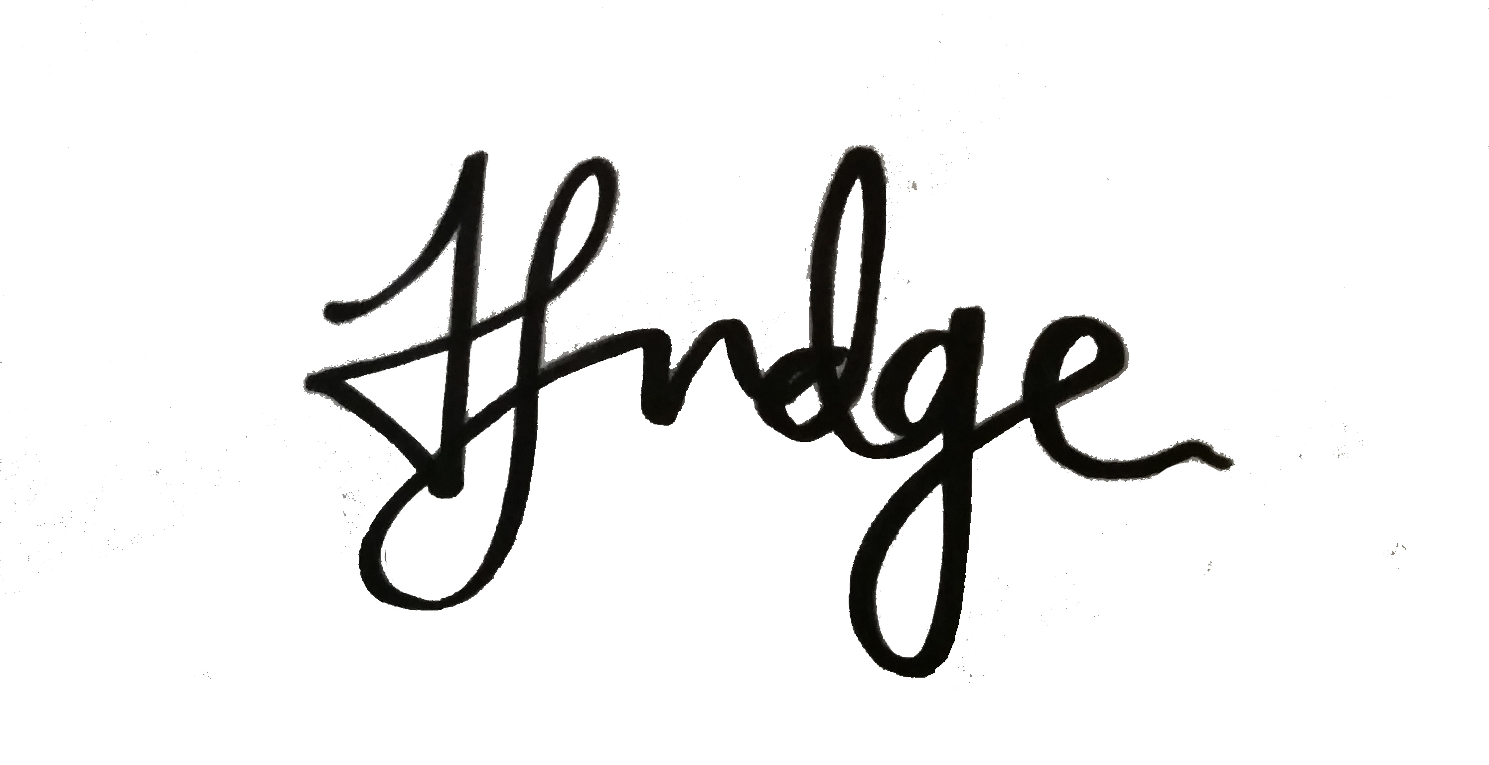 Helen Judge Signature