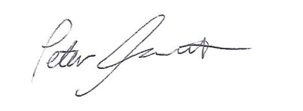 Peter Foucault Signature