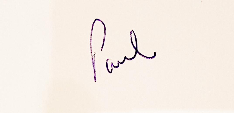 Paul Clark Signature