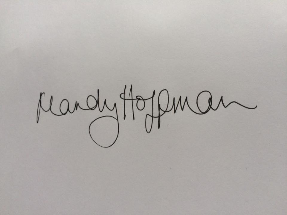 Mandy Hoffman Signature