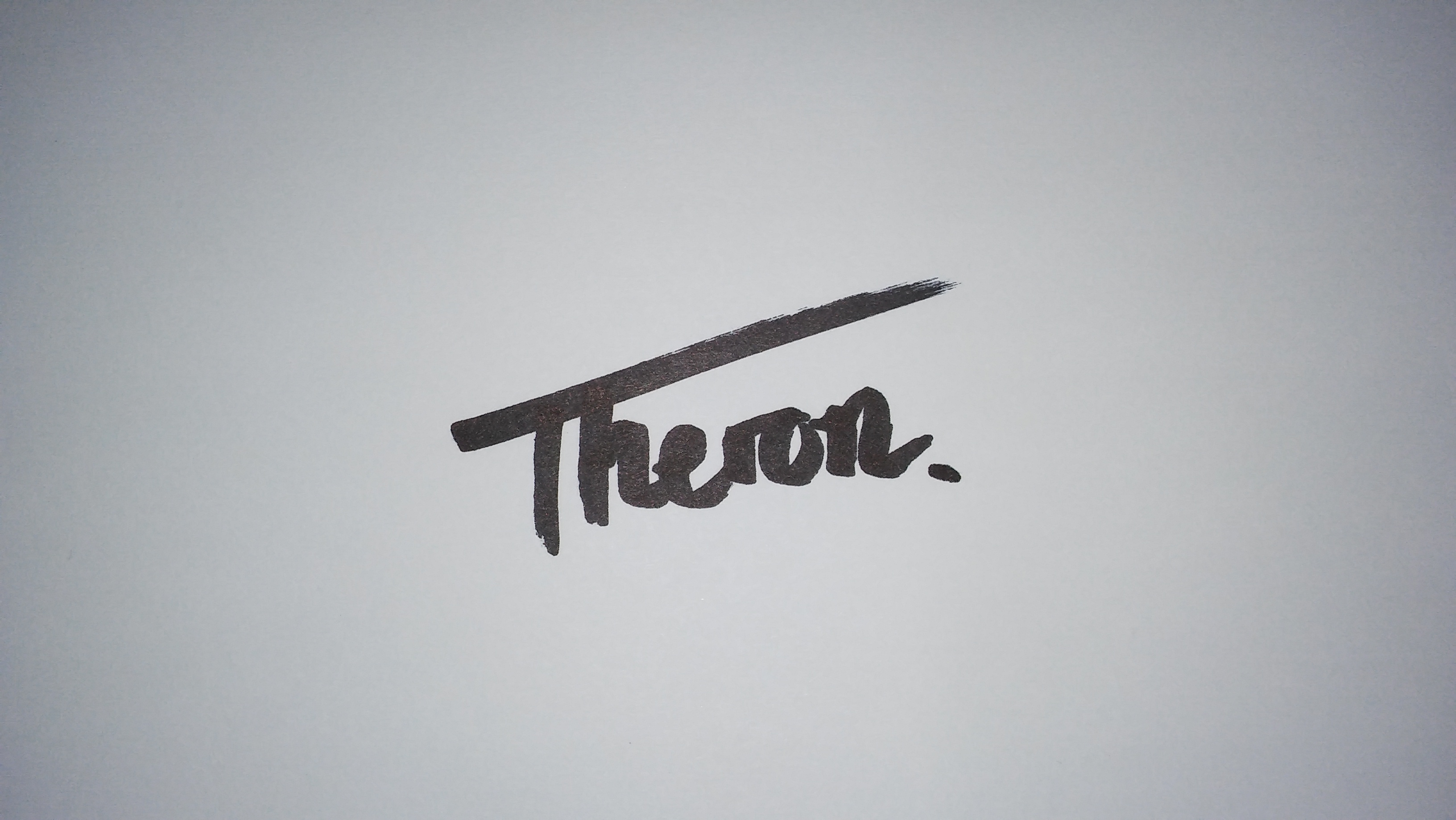 hendrik theron Signature