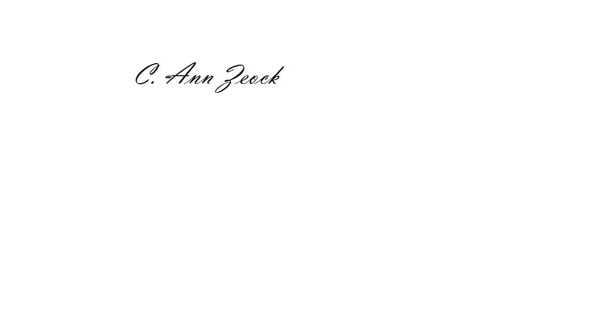 Carol Zeock Signature