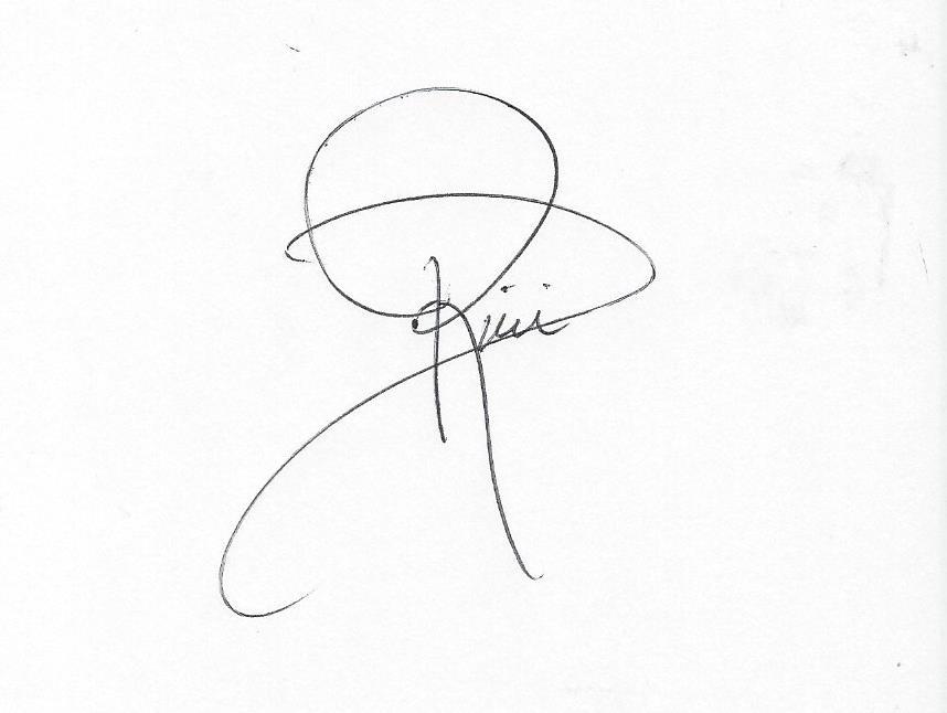 Dianne Rini Signature