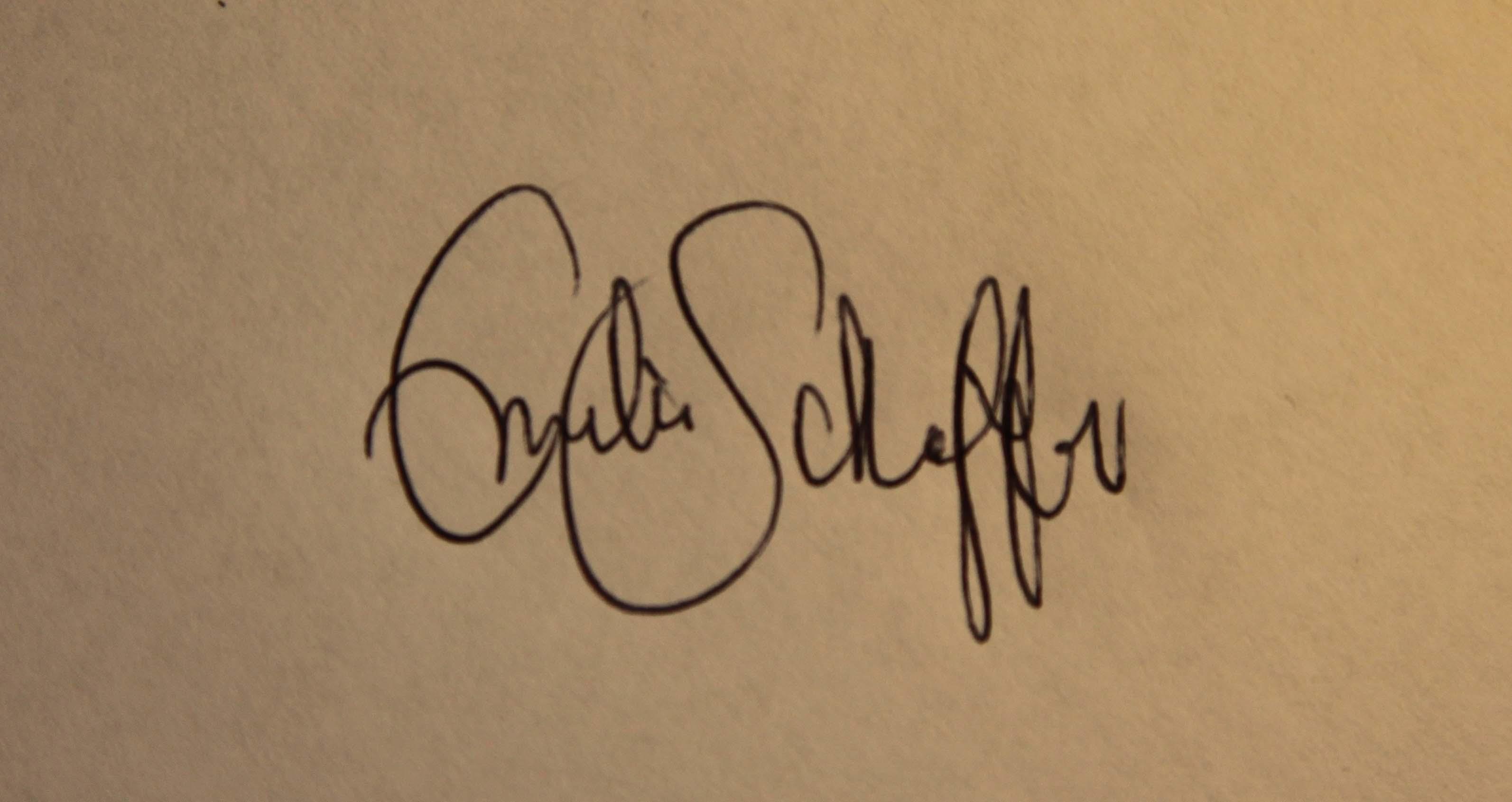 Emilia Heiskanen Signature