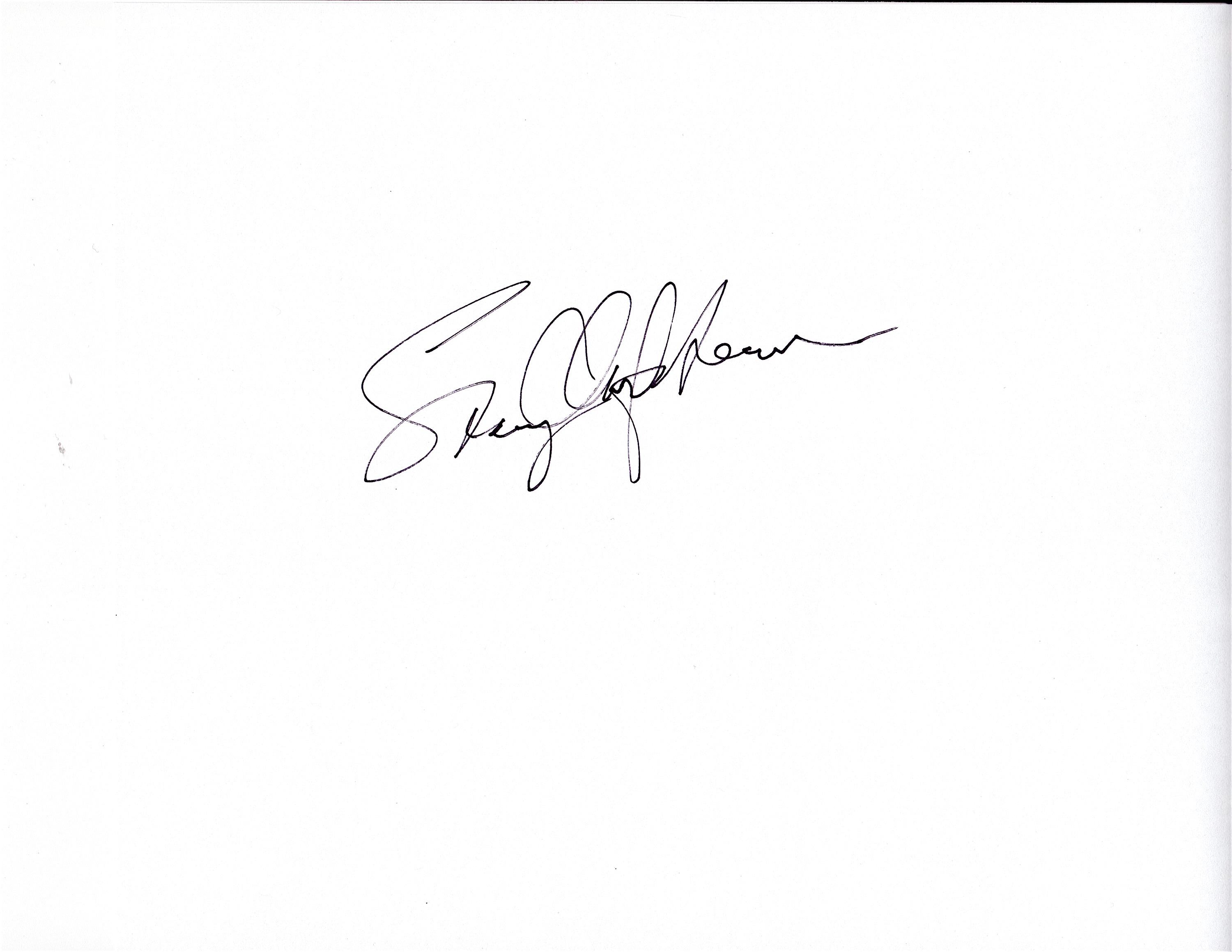 stacey Clarfield Newman Signature