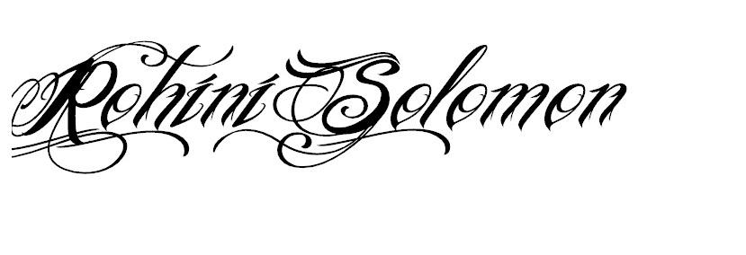 rohini solomon Signature