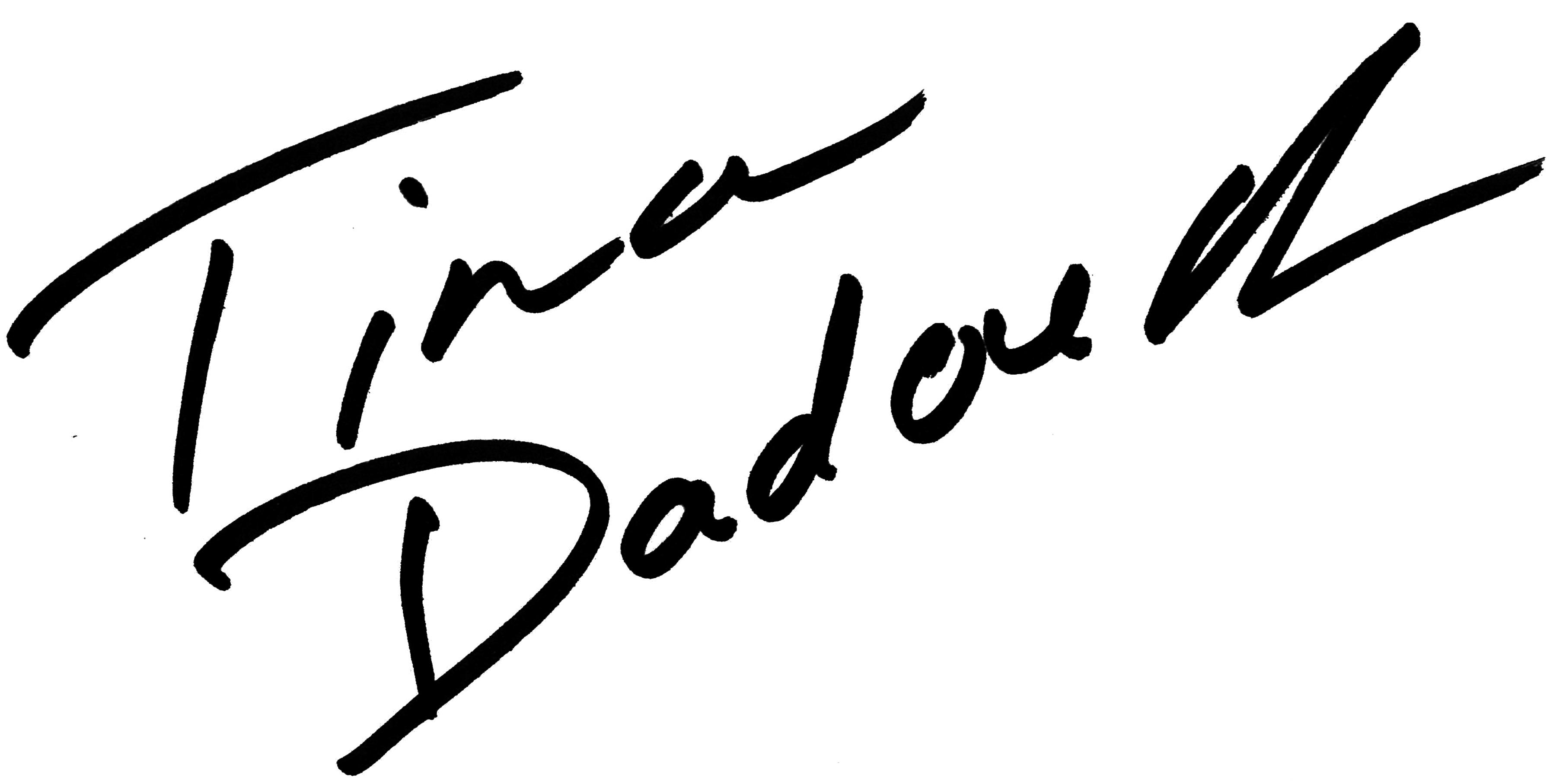 Tina Dadouch Signature