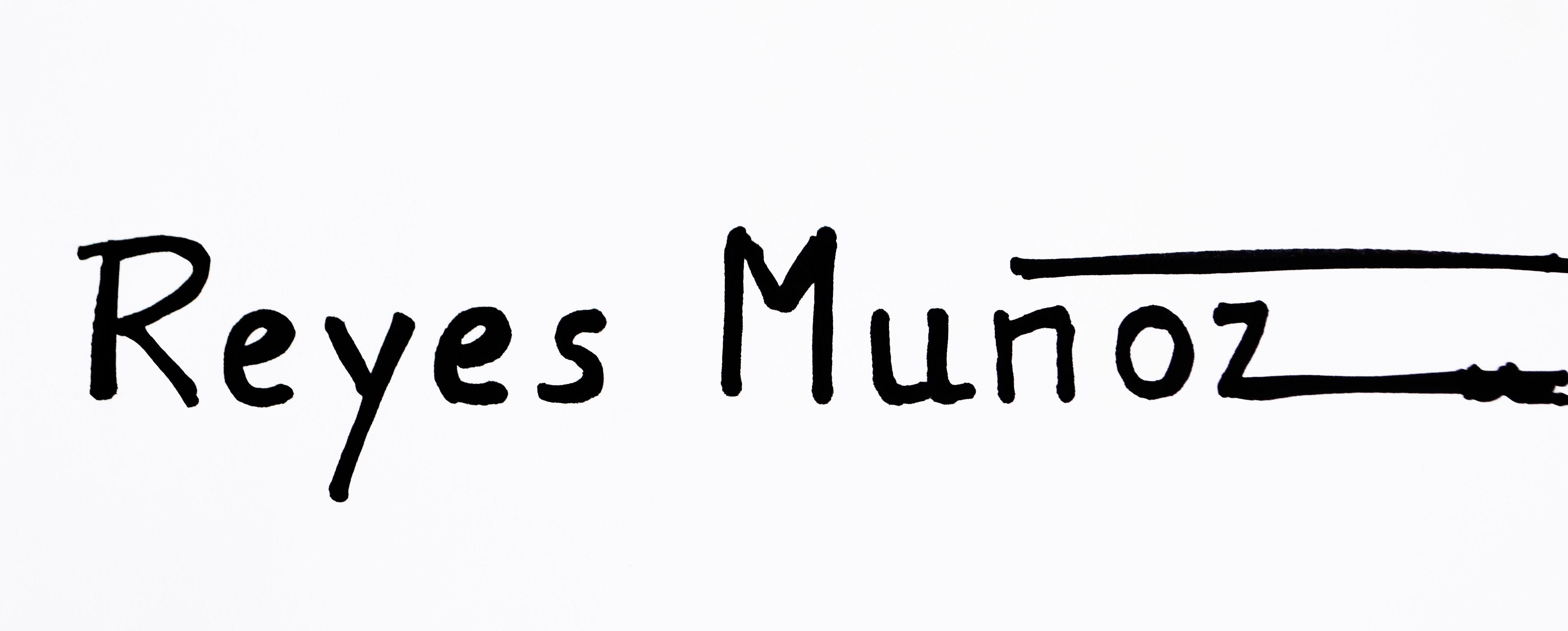 REYES MUÑOZ Signature