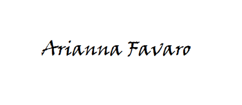 Arianna Favaro Signature