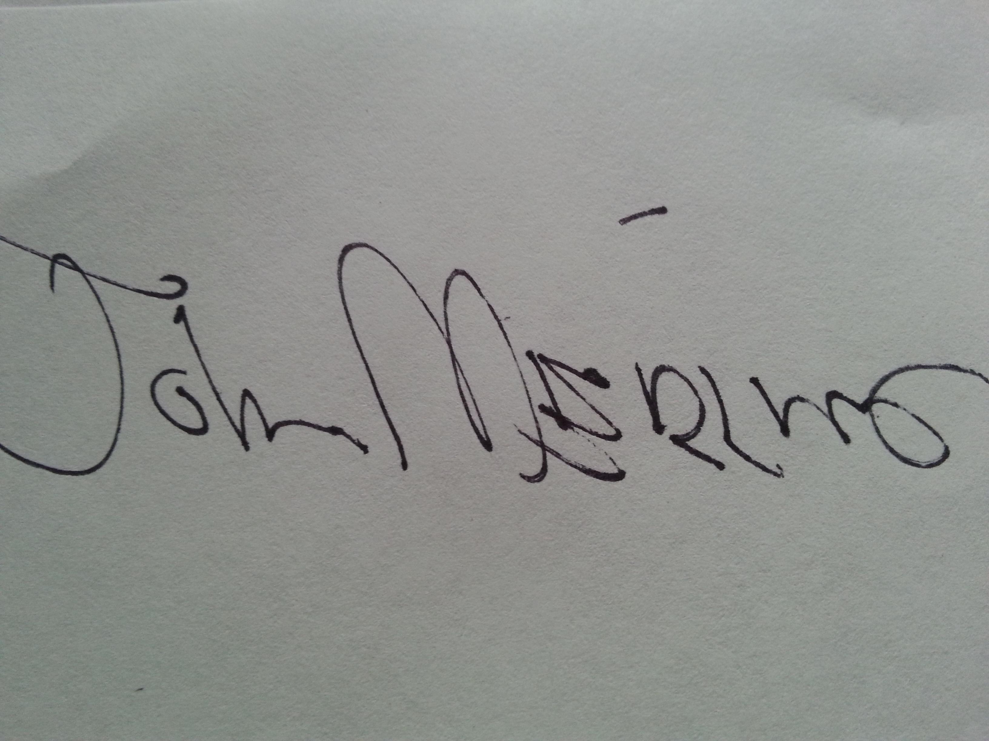 john g. merlino Signature