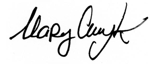marycmyk Signature